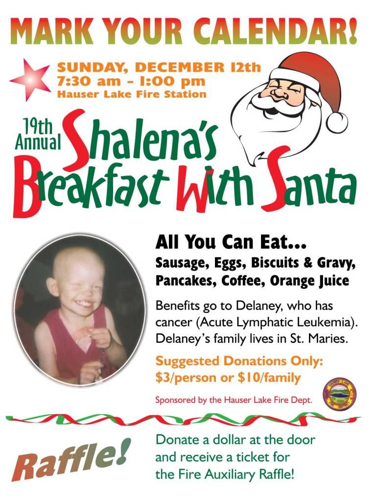 Breakfast with Santa 2004 Delaney