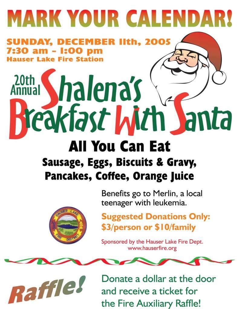 Breakfast with Santa 2005 Merlin