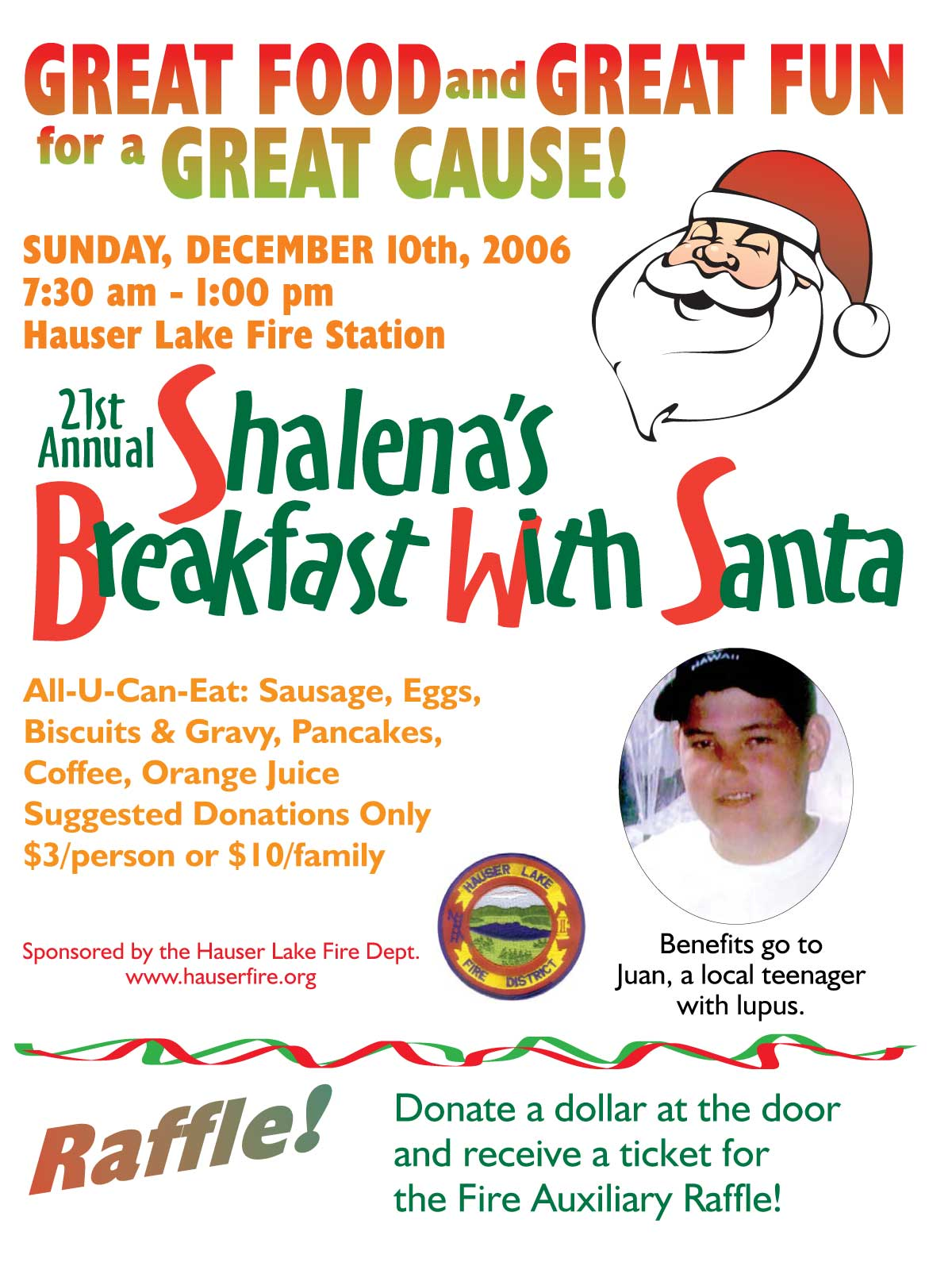 Breakfast with Santa 2006 Juan