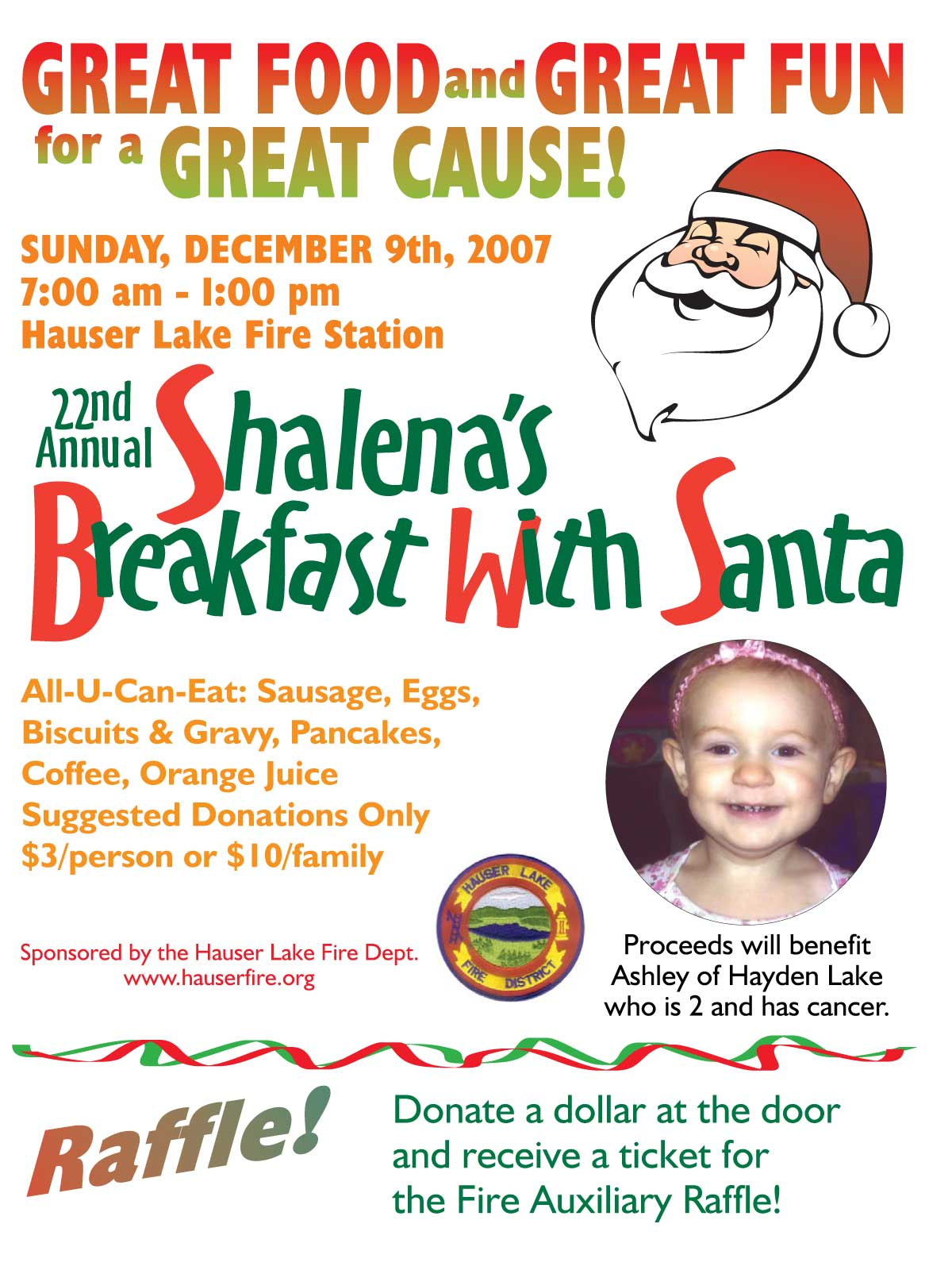 Breakfast with Santa 2007 Ashley