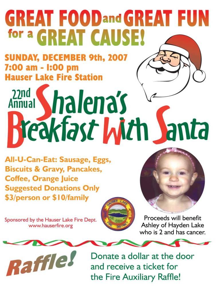 Breakfast with Santa 2007 Ashley
