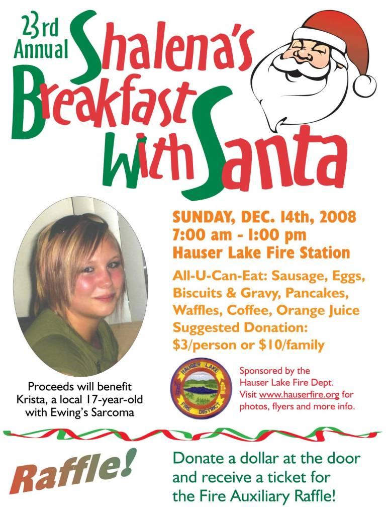Breakfast with Santa 2008 Krista