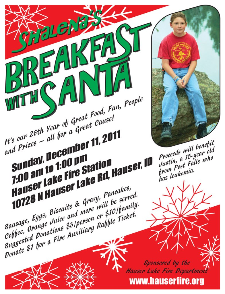 Breakfast with Santa 2011 Justin