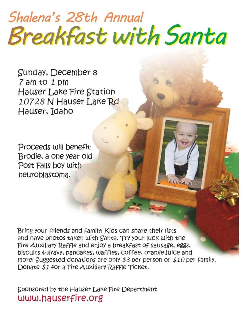Breakfast with Santa 2013 Brodie