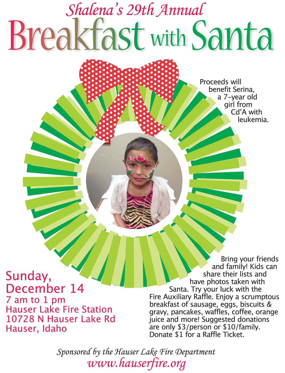 Breakfast with Santa 2014 Serina