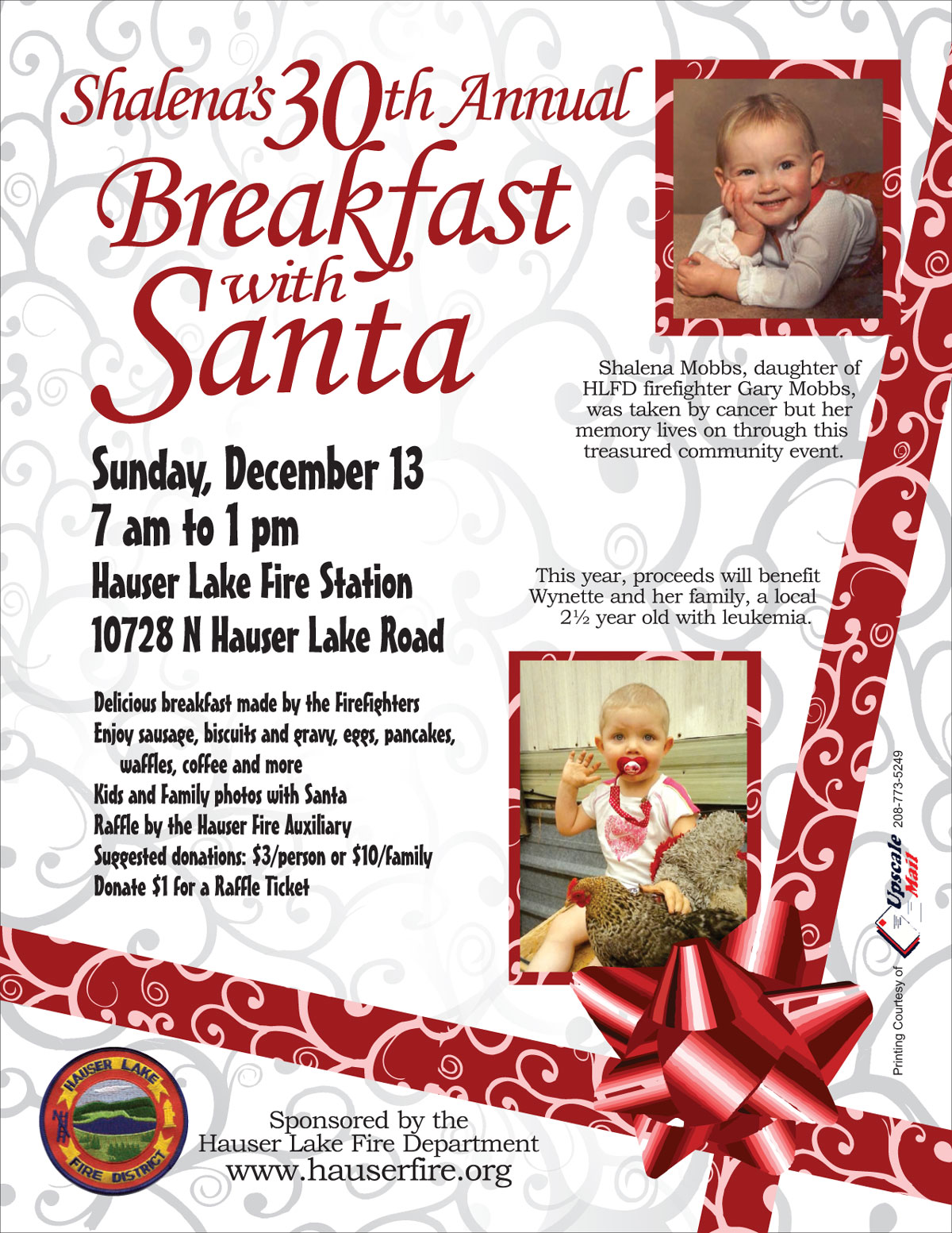 Breakfast with Santa 2015 Wynette
