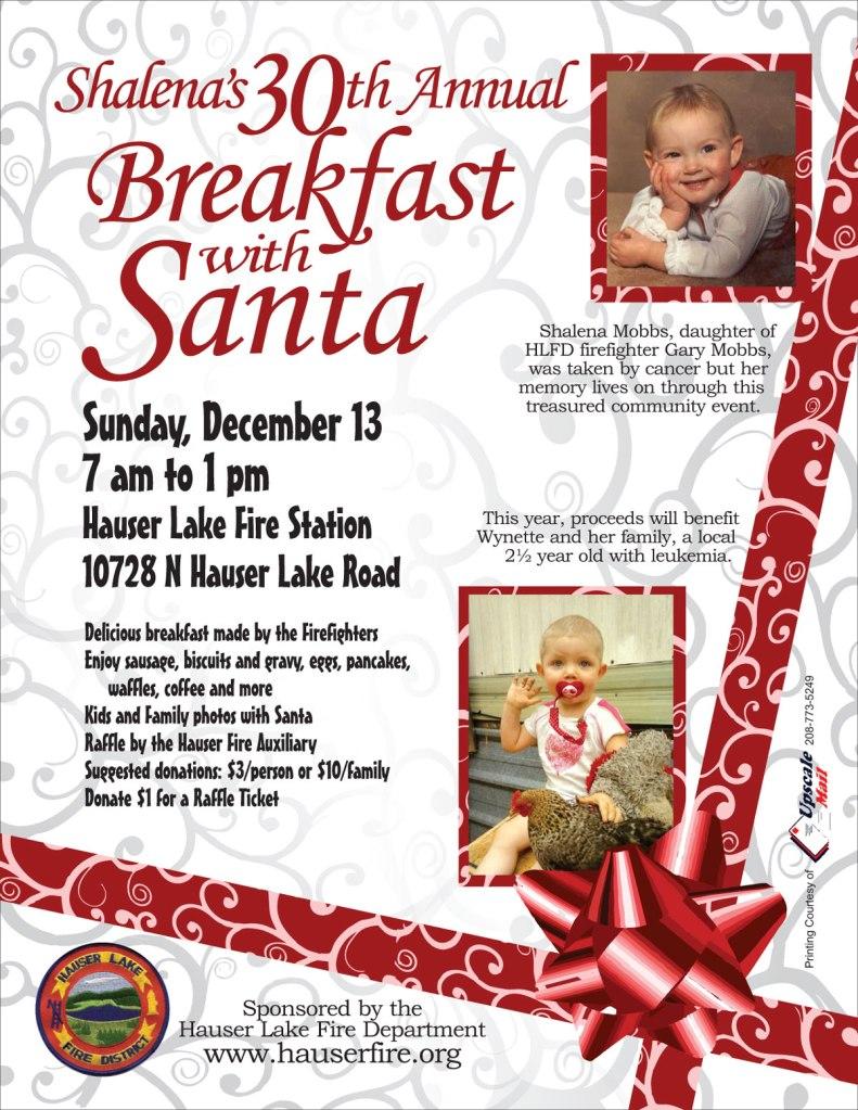 Breakfast with Santa 2015 Wynette